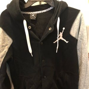 Nike Mens Small button up jacket with hood